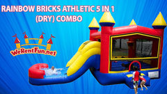 "004 RAINBOW BRICKS ATHLETIC 5 IN 1 (DRY) COMBO  <span style=""color:#ff0000;"">Watch The Unit Video </span>"
