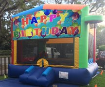 <font color=Green><b>B08 <font color=grey> Happy Birthday Bounce House