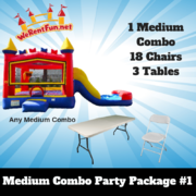 <font color=Green><b>P12 <font color=Grey><b> Medium Combo Party Package #1
