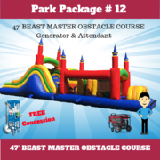 "<font color=Green><b>P13 <font color=Grey><b>Park Package # 12 Double 20ft. Dry Slide <span style=""color:#ff0000;"">  <strike> $475</strike> </span>"