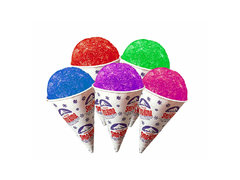 Extra 25 Snow Cone Cups (Only Cones)