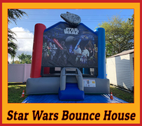 B06 Disney Star Wars Bounce House Best for ages 2+ Space Needed 18 D x 16 W x 18 H