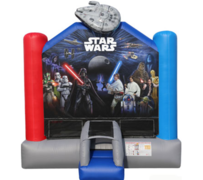 R2 3D Disney Star Wars Bounce House Best for ages 2+ Space Needed 17' L X 16' W x 17' H