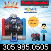 "Star War Park Package   <span style=""color:#ff0000;""><strike> $235 </strike></span>"