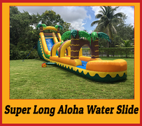 S10 55FT Super Long Aloha Water  Slide  Best for ages 5+ Space Needed 60 D x 20 W x  22 H