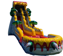 S16 22' T Rex  Slide with XL Pool ( Family Friendly )  Best for ages 5+ Space Needed 43 D x 21 W x 26 H