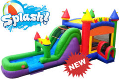 <font color=Green><b>C06 <font color=grey><b>THE FUN MULTI COLOR CASTLE Wet/Dry COMBO