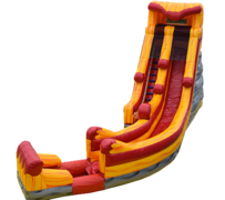 NEW S15  S15 - 22 FT Twister Water Slide With Pool  Best for ages 5+ Space Needed 50'L x 25'W x 25'H