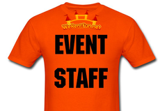 3 Hours Of Staff-Event Attendant