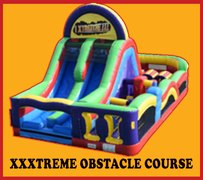 OC03 60FT XXXtreme Obstacle CourseBest for ages 5+ Space Needed 32 D x 22 W x 18 H