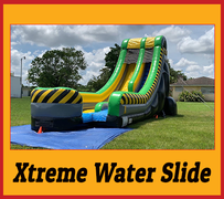 S06 20ft  Xtreme Water Slide Best for ages 5+ Space Needed 41 D x 20 W x 25 H