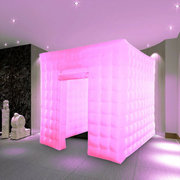 Inflatable LED Light Photo Booth Enclosure