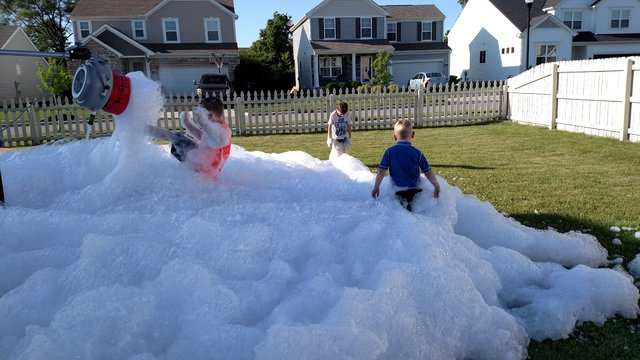 Foam Machine w/o foam pit