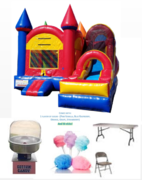 Castle with Slide Combo (dry) Package