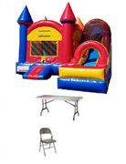 Castle with Slide Combo (wet) Package