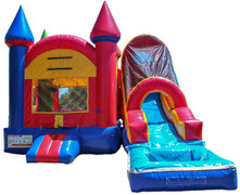 Castle with Slide (wet)