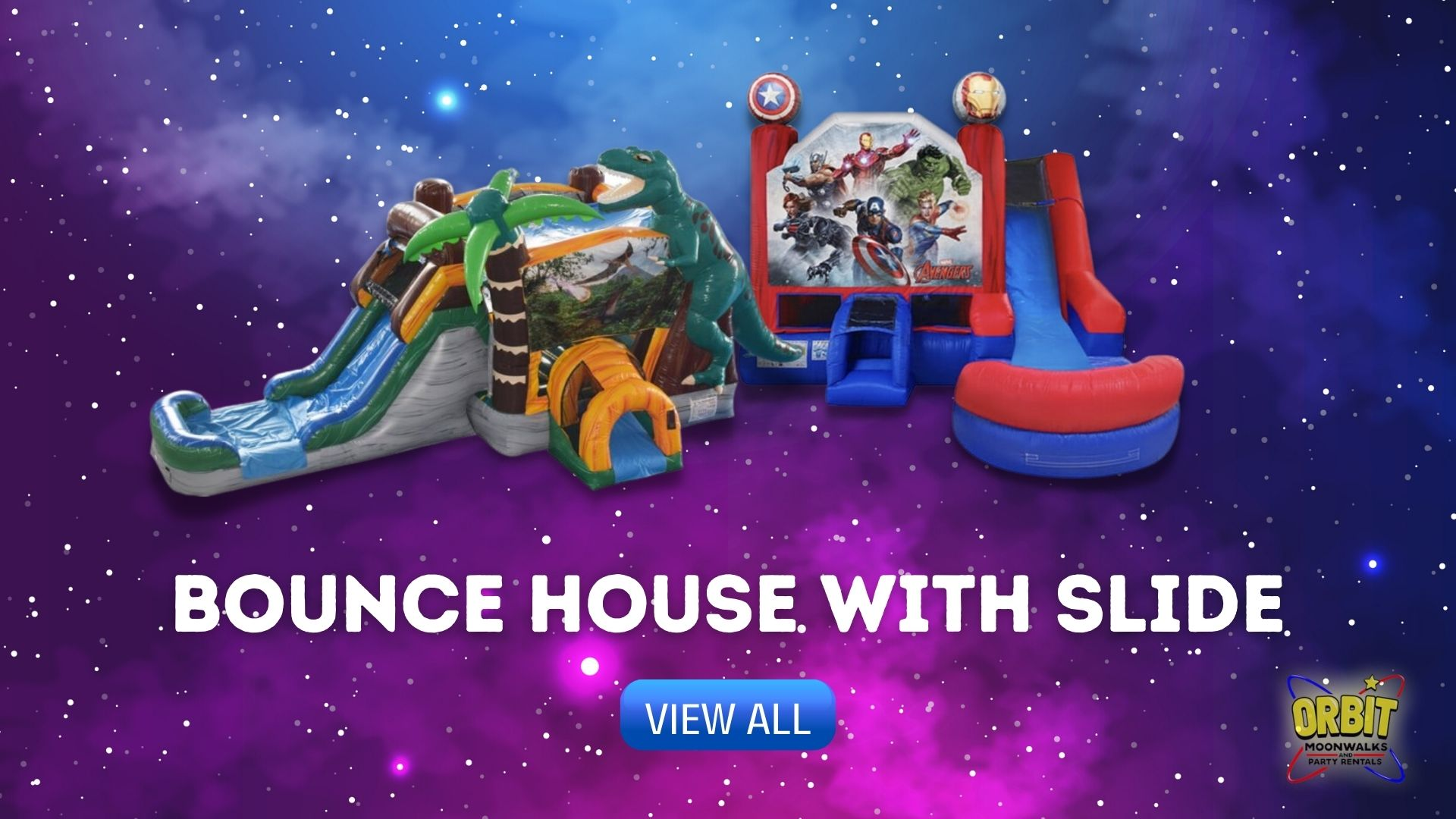 Houston Bounce House with Slide Rentals
