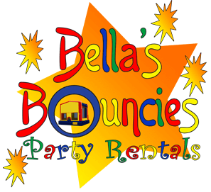 Bella's Bouncies Party Rentals Logo