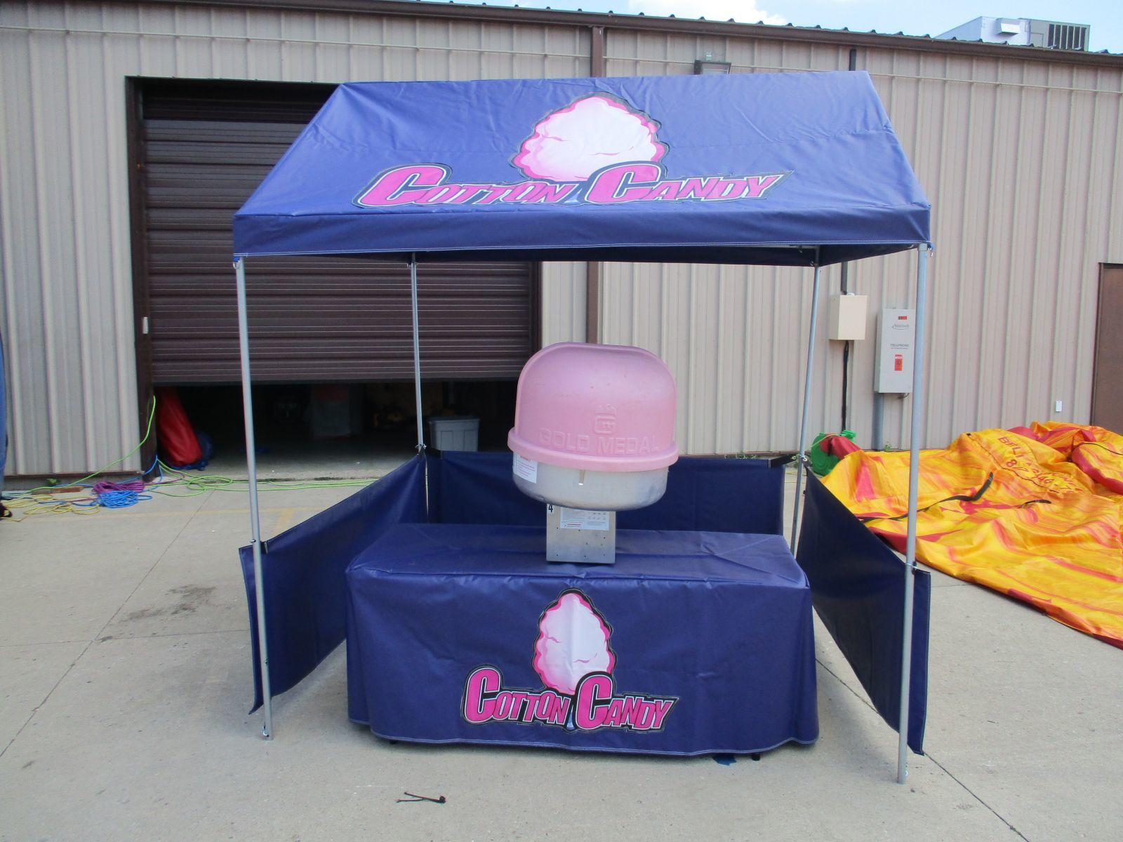 Cotton Candy Machine NOT included. & Cotton Candy Concession Tent Booth | Bellau0027s Bouncies