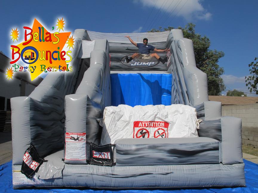 Cliff Jump Stunt Jump | Bella's Bouncies | bounce house ...