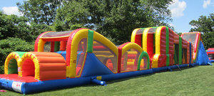 122 ft Obstacle Course