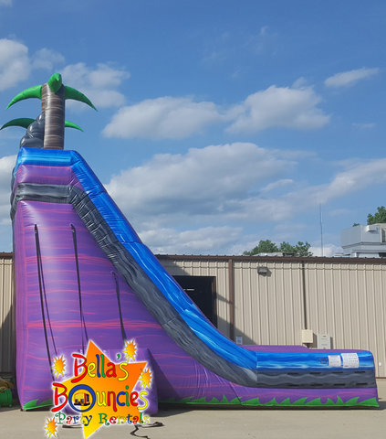 27 Foot Purple Crush Slide Dry