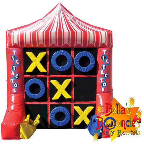 Tic-Tac-Toe 4-Spot Combo Game