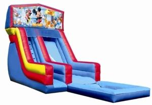 18ft Mickeys Fun Factory Modular Slide