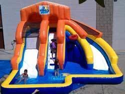 Splash Island Slide