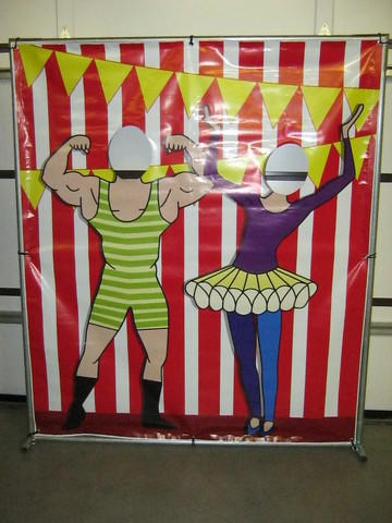 Photo Prop - Circus Strong Man Theme