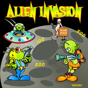 Frame Game - Alien Invasion