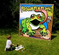 Frame Game - Froggy Fly Fling