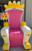 Royal Princess Throne Chair $99.00