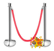 Stanchions and Red Velvet Rope