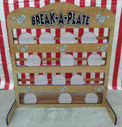 Break A Plate Carnival Game