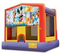 Mickeys Fun Factory Modular Moonwalk 15x15