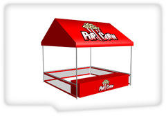 Popcorn Concession Tent Booth