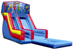 18ft Power Rangers Modular Slide