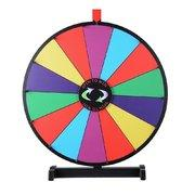 24 inch Spinning Prize Wheel - Tabletop