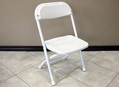 Folding Chair White - Kid