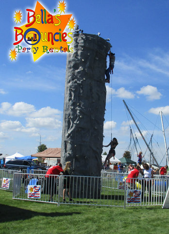 24 Foot Rock Wall