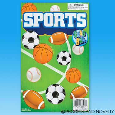 Sports Fun Favor Bag