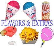 Flavors and Extras