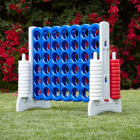 Giant American Connect 4 Carnival Game Rental in Chicago