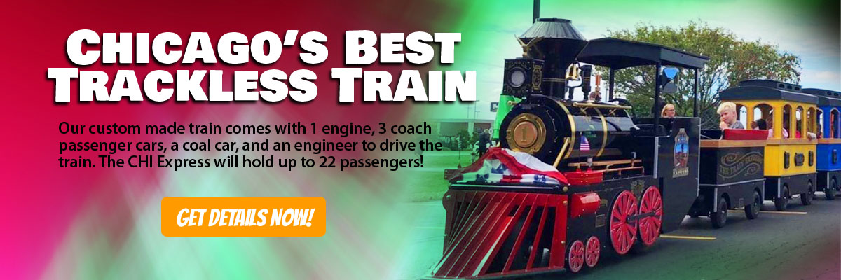 Trackless Train Rental Chicago