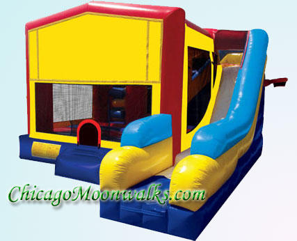 Inflatable Bounce House Combo Rental Chicago IL