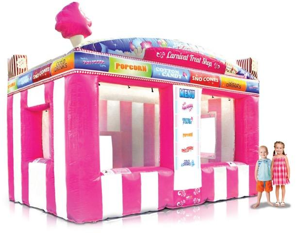 Inflatable Carnival Treat Concession Booth Rental Chicago IL
