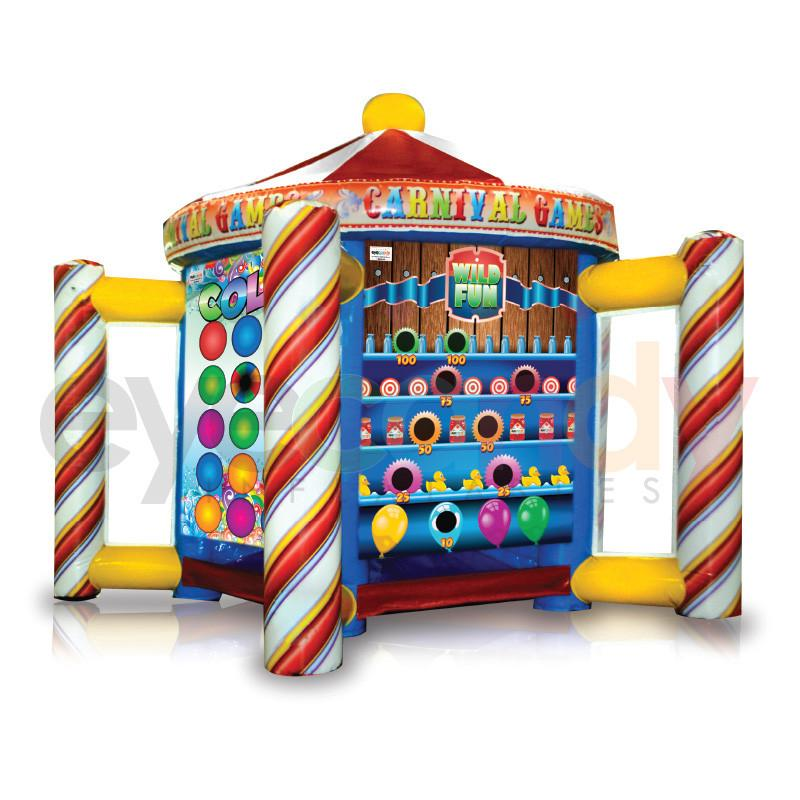 Carnival 5-1 Interactive Inflatable Game Rental Chicago IL