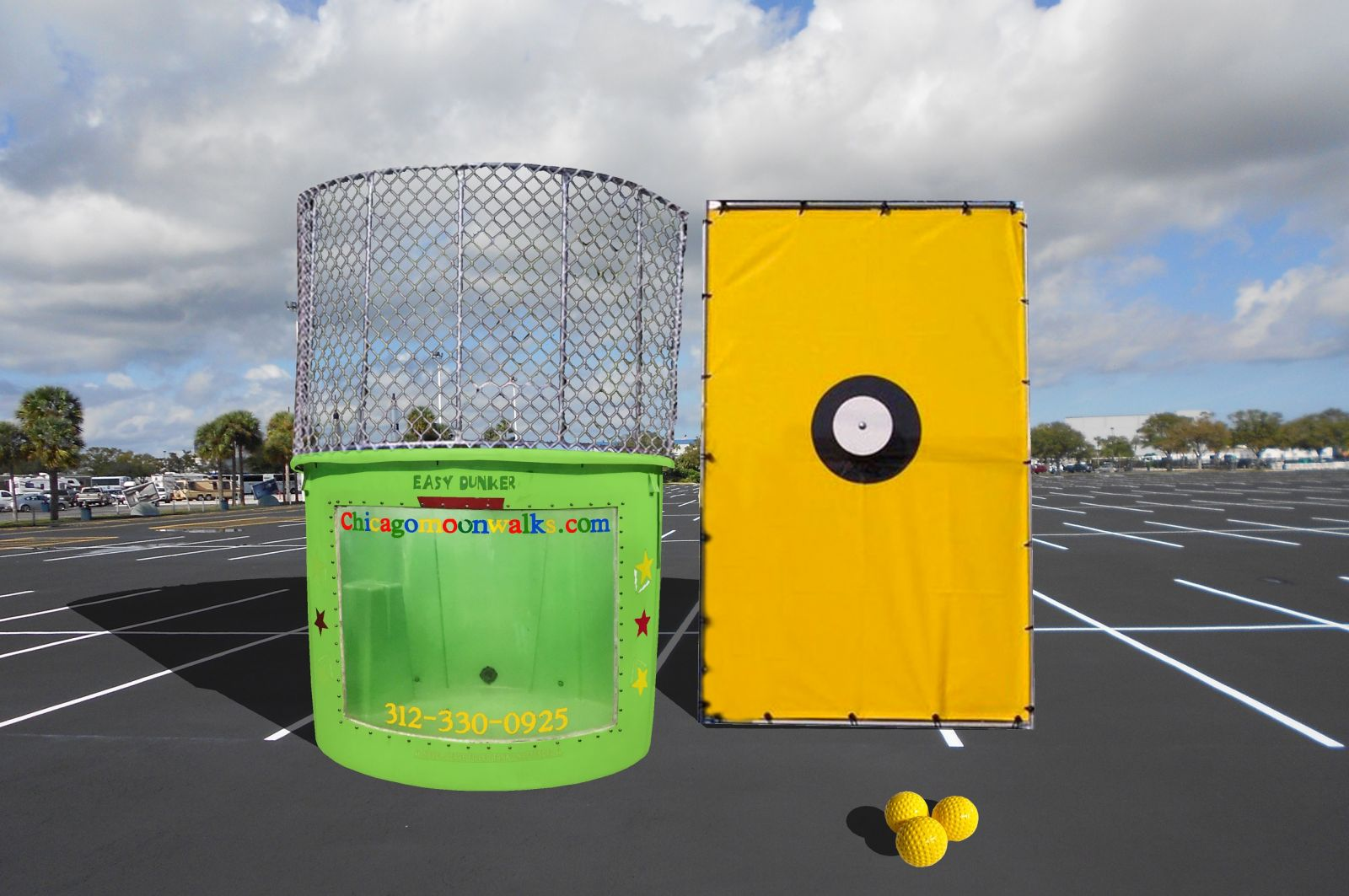 Chicago Dunk Tank Rental, Dunk Tanks for Rent in Chicago IL