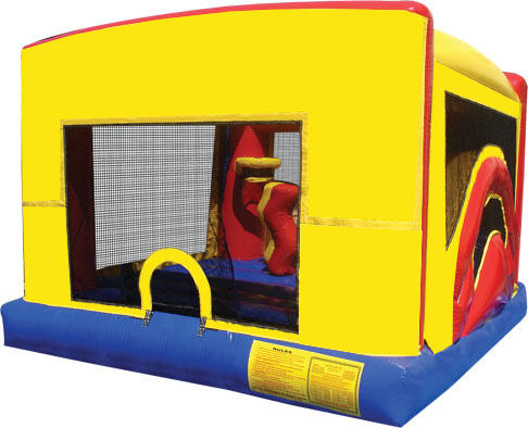Indoor Bounce House Inflatable Rental Chicago Illinois Moonwalks Party Bouncy Castle